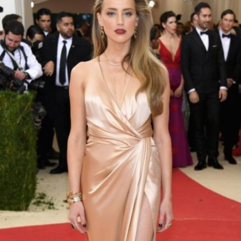 Amber Heard, old Hollywood. Y nada que ver con el tema. Foto:vía Getty Images