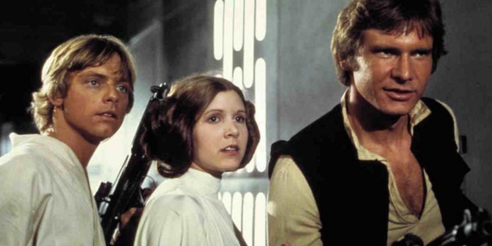 Cuando se estrenó en 1977, Star Wars sólo se proyectó en 32 salas de Estados Unidos. Foto:Lucas Film
