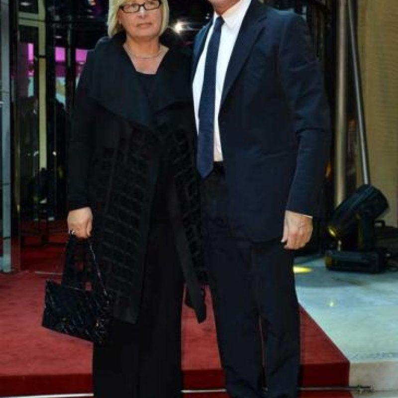"6. Rosanna Ranieri, la esposa del DT de ""The Foxes"". Foto:Getty Images"