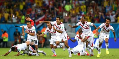 6. Costa Rica / Mundiales=0 / Copa Oro=3 Foto: Getty Images