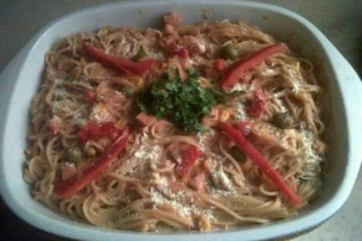 Segundo lugar. Espaguetis a la Dominicana, de Arlen Ascención Abreu