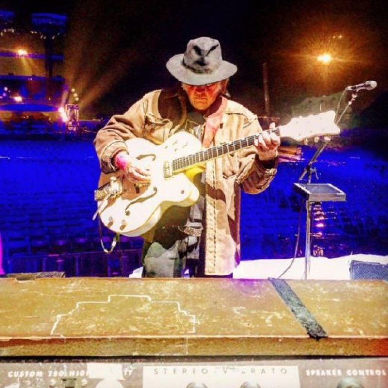 Neil Young, Foto:Twitter