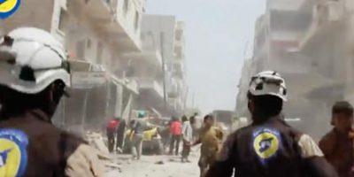 Ciudad situada al noroeste de Siria. Foto:AP