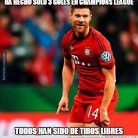 Xabi Alonso tuvo un partido destacado. Foto:memedeportes.com