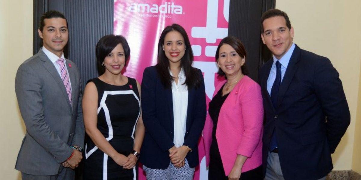 Amadita auspicia charla en congreso