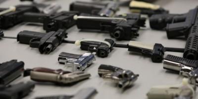 Incautan 43 armas de fuego durante varios operativos