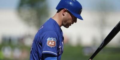 Indios adquieren al receptor Chris Giménez en un cambio con los Rangers