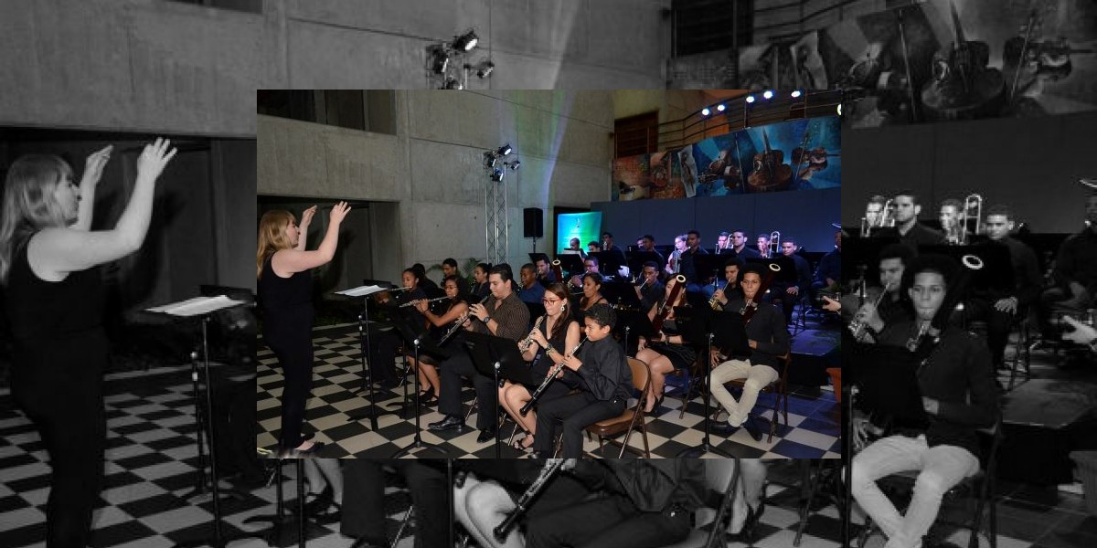 Fundación Sinfonía realiza taller con jóvenes músicos