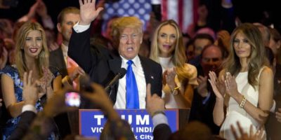 El martes 3 de mayo Trump logró otro triunfo en Indiana. Foto:AP