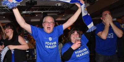 Apostadores del Leicester ganan dinero a lo grande
