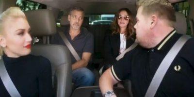 Carpoll Karaoke reunió a Gwen Stefani, George Clooney y Julia Roberts