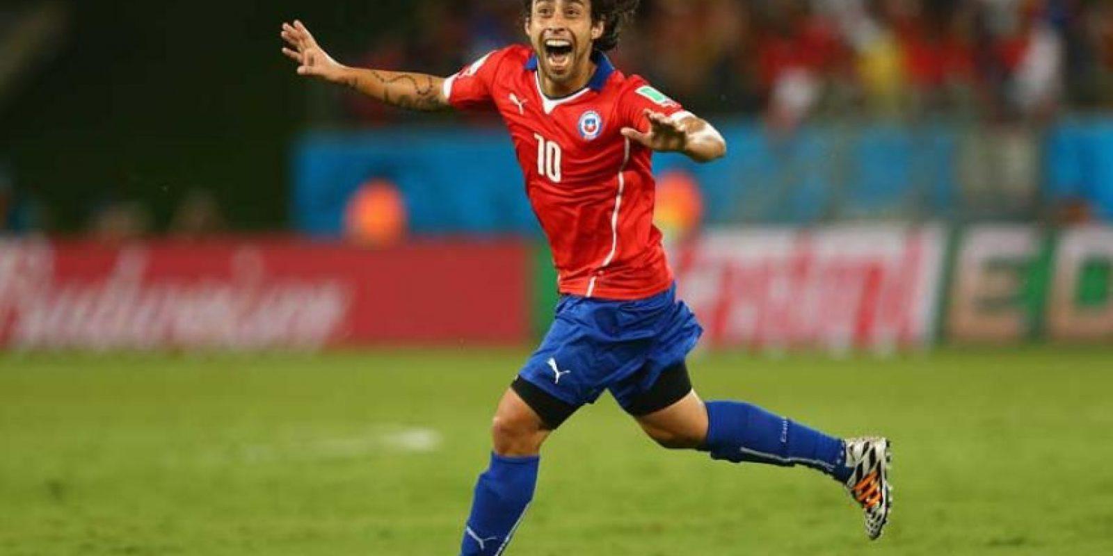 Chile: Jorge Valdivia Foto:Getty Images