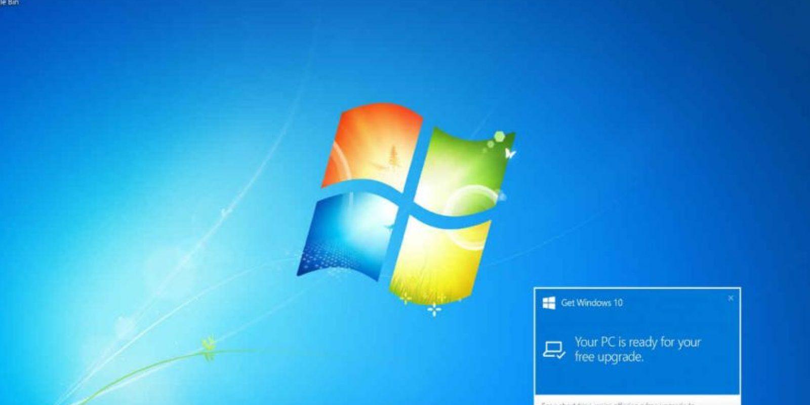 Windows 10 es el más reciente sistema operativo de Microsoft. Foto:Windows 10