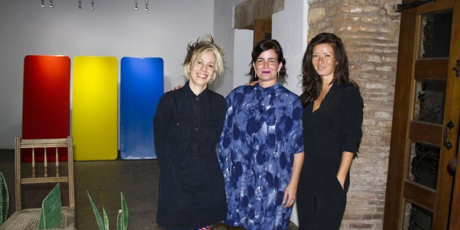Lucy García, Quisqueya Henríquez y Hannah Parr. Foto: Fuente externa
