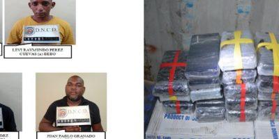 DNCD desmantela cuatro organizaciones narcotraficantes y apresa 18 miembros