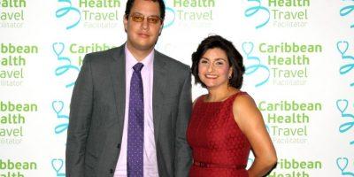 Juan Pablo Salazar y Martha Estrella Haddad. Foto:Fuente externa