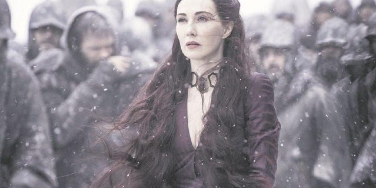 """Carice Van Houten: """"Es difícil que a alguien le guste un personaje como Melisandre"""""""