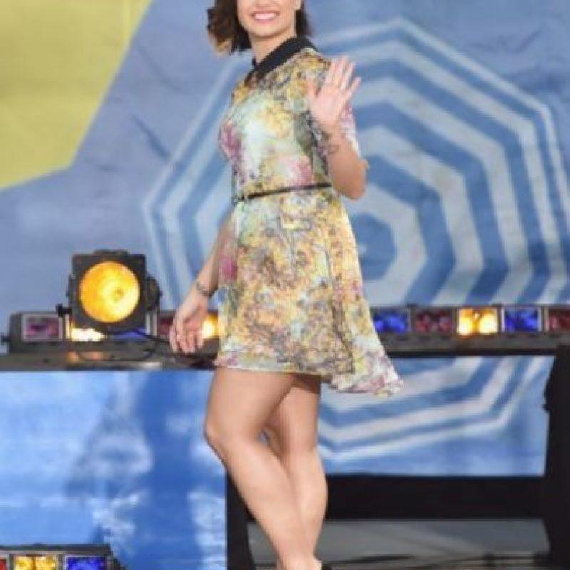 Demi Lovato padece trastorno bipolar. Foto:Getty Images