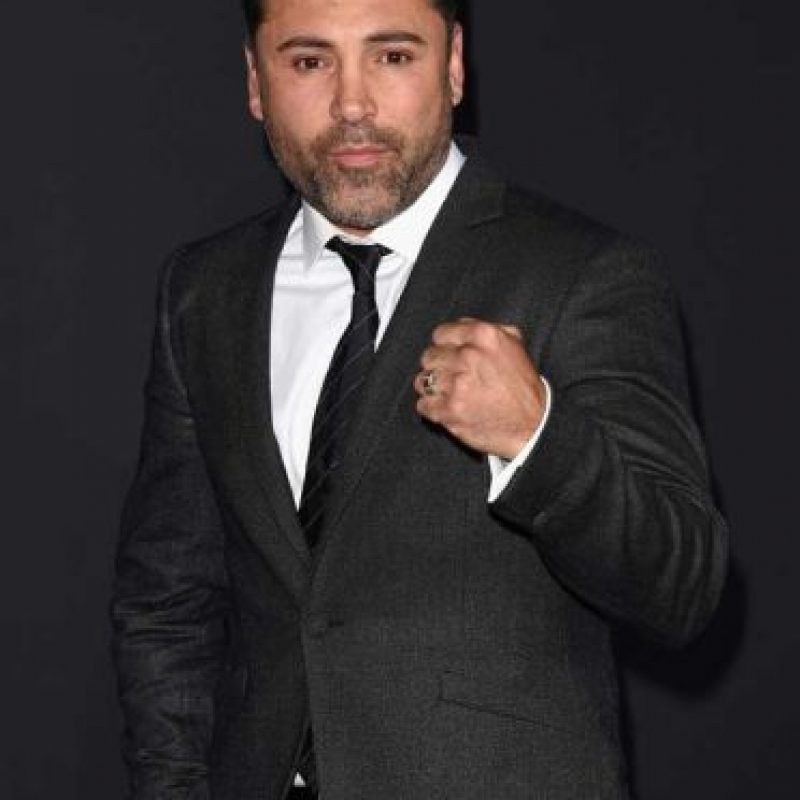 Oscar de la Hoya Foto: Getty Images