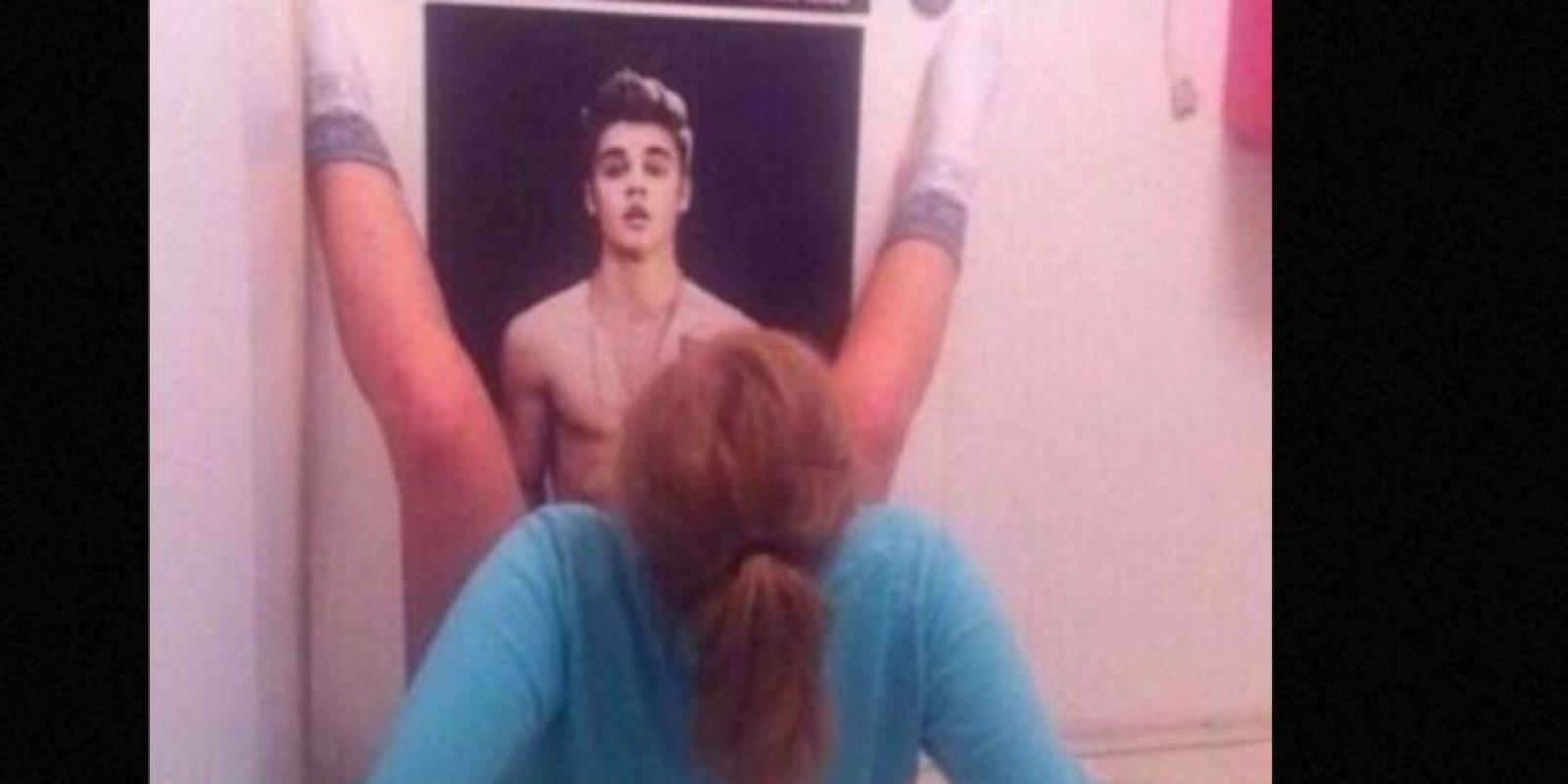La que quiere consumar el acto con Justin. Foto:vía Tumblr