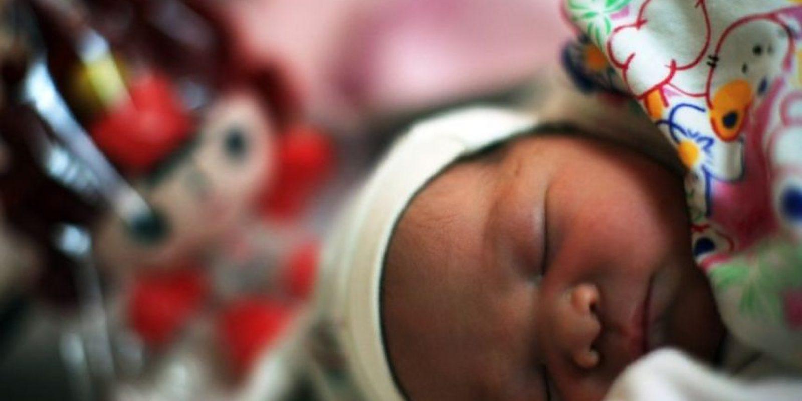 """La foto publicada en su Facebook y en """"Mama Bean – Unconditional Attachment"""" llevaba este mensaje: Foto:Getty Images"""
