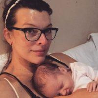Después de dar a luz Foto:vía instagram.com/millajovovich