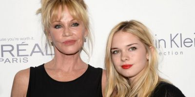 Melanie Griffith y Stella Banderas Foto: Getty Images