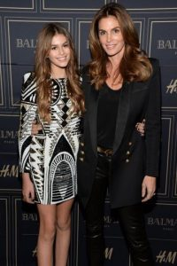 Kaia Jordan Gerber y Cindy Crawford Foto: Getty Images