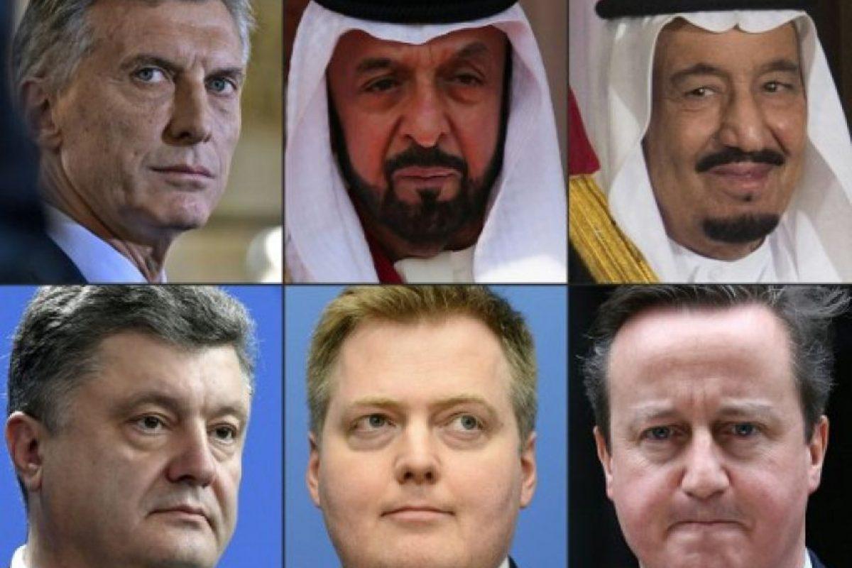 La investigación de al menos un año salpicó 140 políticos, funcionarios públicos, empresarios y estrellas del espectáculo y deporte de todo el mundo. Foto:AFP