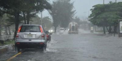 Lluvias seguirán estes lunes, según la Onamet