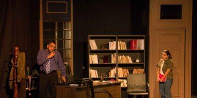 Teatro: Oleanna vuelve del 9 al 12 a la Sala Ravelo del Teatro Nacional