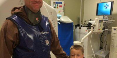 La leucemia representa alrededor de una tercera parte de todos los cánceres infantiles Foto:Facebook: Jason Desautels