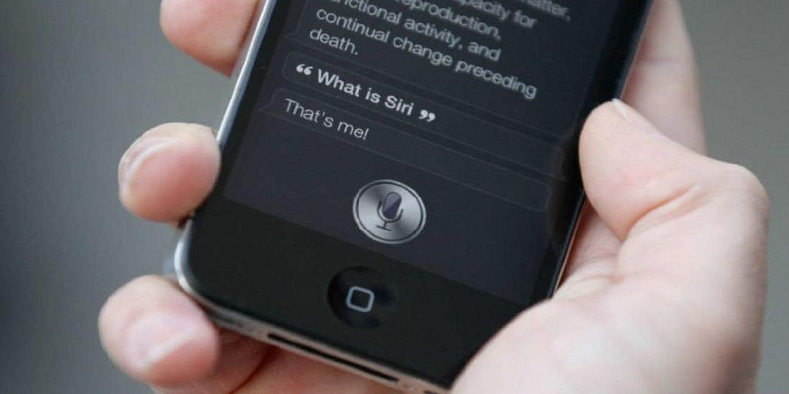 """""""Siri"""" es la asistente personal de Apple. Foto:Getty Images"""