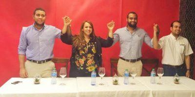 Morada expresa apoyo a candidata Karen Ricardo