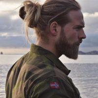 Está en la marina de Noruega. Foto:vía Instagram/Lasse L. Matberg