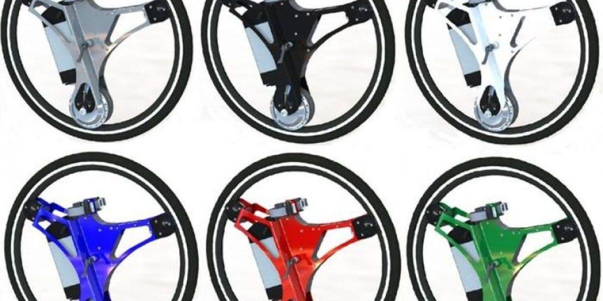 Esta rueda convierte su bicicleta en un vehículo eléctrico