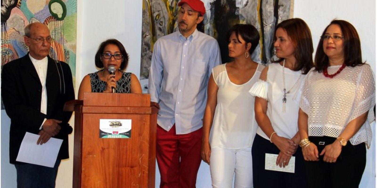 Marín López, Fátima Morel, Manuel Antuñano, Parmelia Matos, Ana Virginia Berrido y Patricia Gamundi. Foto:Fuente externa