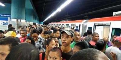 Avería eléctrica afecta la Línea 1 del Metro