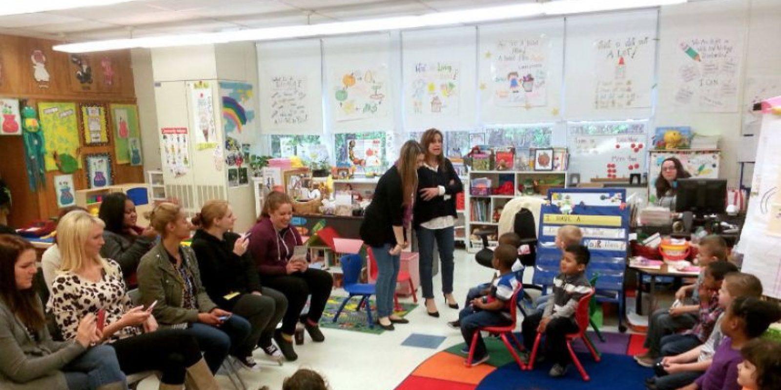 Ella aseguró al diario Huffington Post lo bien que siente ser apreciada. Foto:facebook.com/WoodburyCityPublicSchools