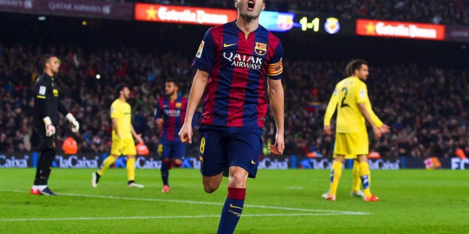 Andrés Iniesta: 13 Foto:Getty Images