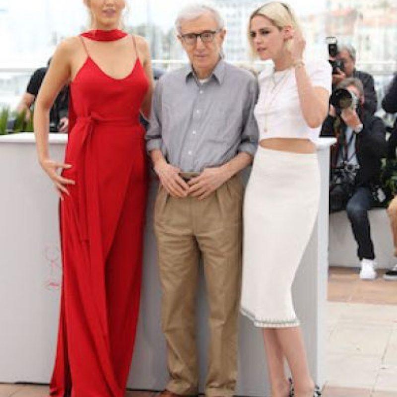 Así lució Blake en Cannes junto a Woody Allen y Kristen Stewart Foto:Getty Images
