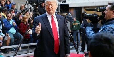 Trump venede su ropa en tiendas departamentales. Foto:GETTY