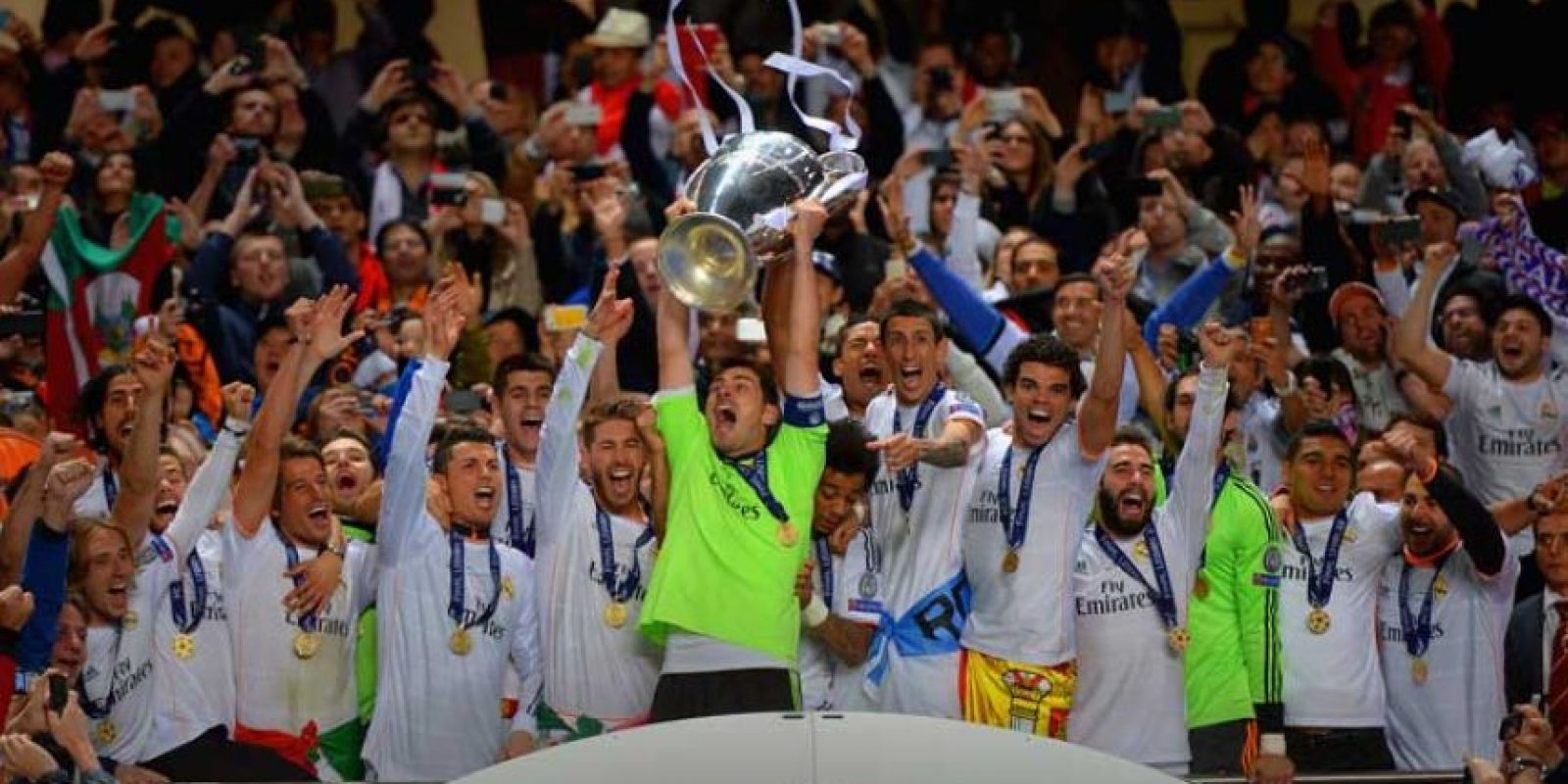 Campeón: Real Madrid Foto: Getty Images