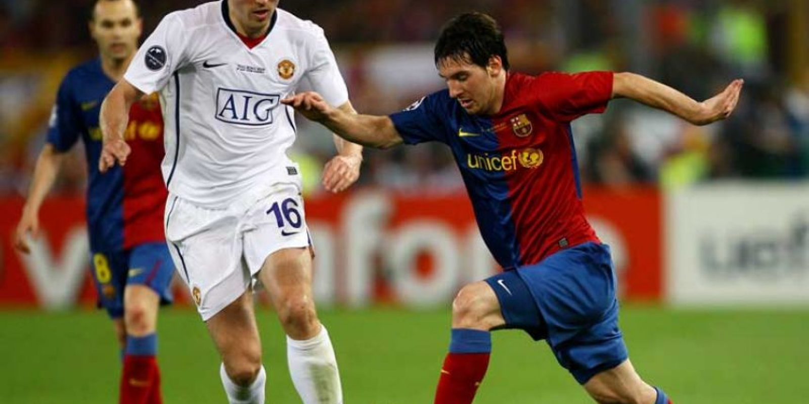 2009: Barcelona vs. Manchester United Foto: Getty Images
