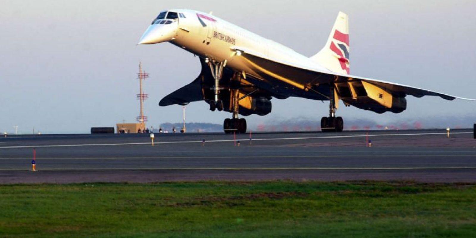Los primeros diseños del Concorde estuvieron listos en 1960. Foto:Getty Images