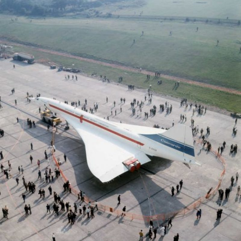 Por sus elevados costos de producción, fue financiado entre Gran Bretaña y Francia. Foto:Getty Images