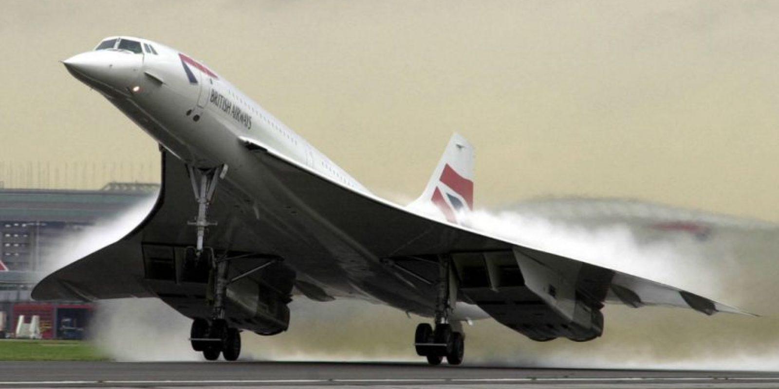 En 2003 los aviones Concorde dejaron de volar. Foto:Getty Images