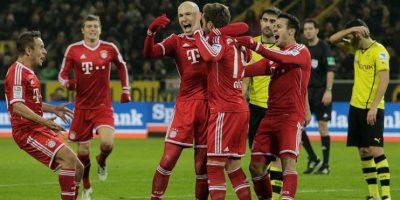 2013: Bayern Munich vs. Borussia Dortmund Foto:Getty Images