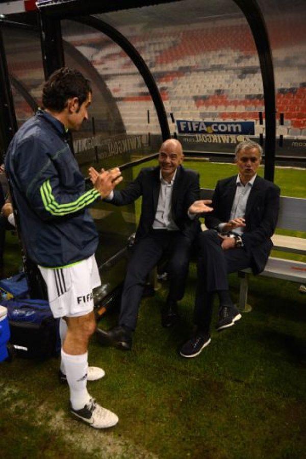 Quien compartió momentos con José Mourinho y Luis Figo. Foto:Getty Images