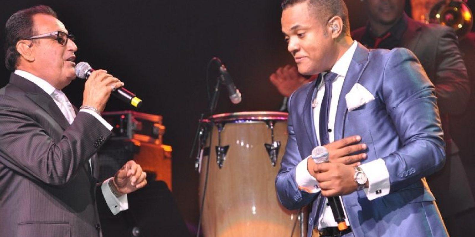 Ismael Miranda junto a Alex Matos. Foto:Fuente externa